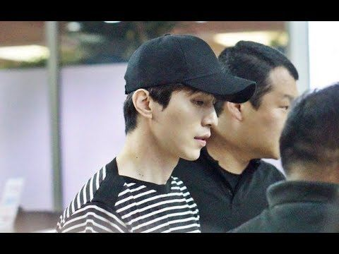 Lee Dong Wook has Finally arrived in Jakarta, Spotted at Soekarno Hatta ...