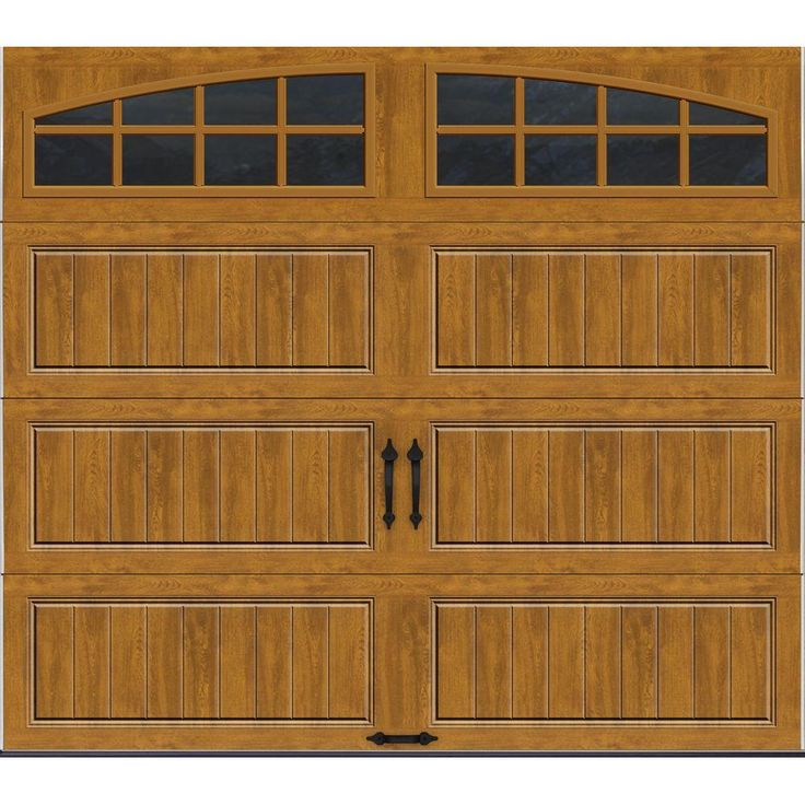 50 best garage images on pinterest outdoor walls for R value of wood garage door