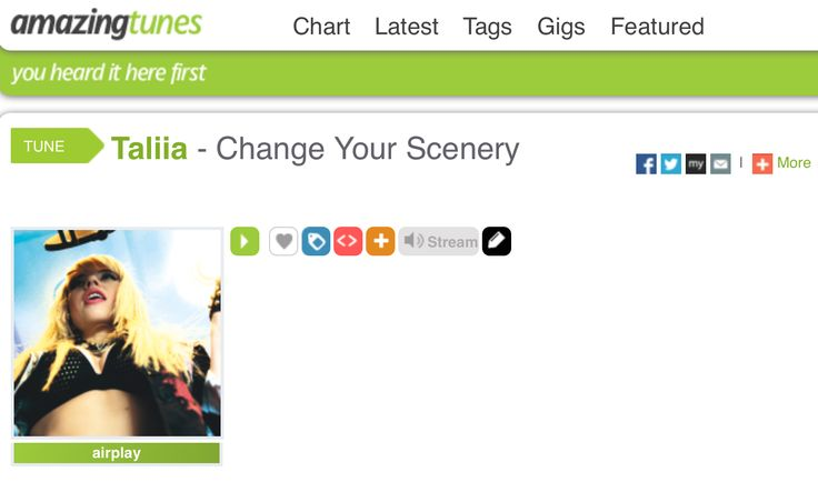 #Taliia #ChangeYourScenery #AmazingRadio http://www.amazingtunes.com/taliia