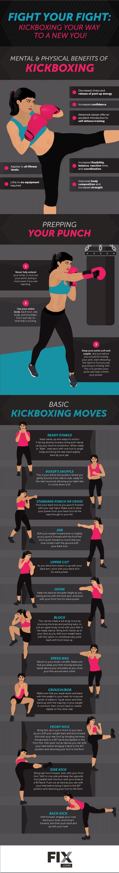 Workouts don't need to be boring. Kickboxing classes are spent honing your form and technique, which makes you feel empowered!