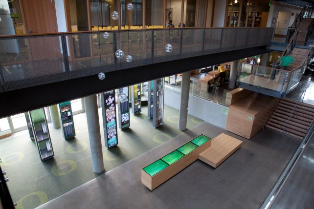 University of Oregon Ford Alumni Center | environments | Second Story