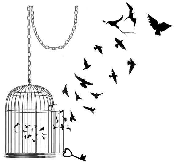 Hey, I found this really awesome Etsy listing at https://www.etsy.com/listing/102542549/birdcage-silhouettes