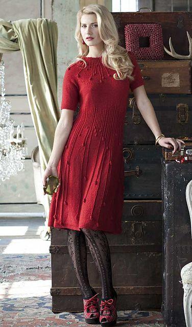 Ravelry: #02 Rain Drops Dress pattern by Mari Tobita