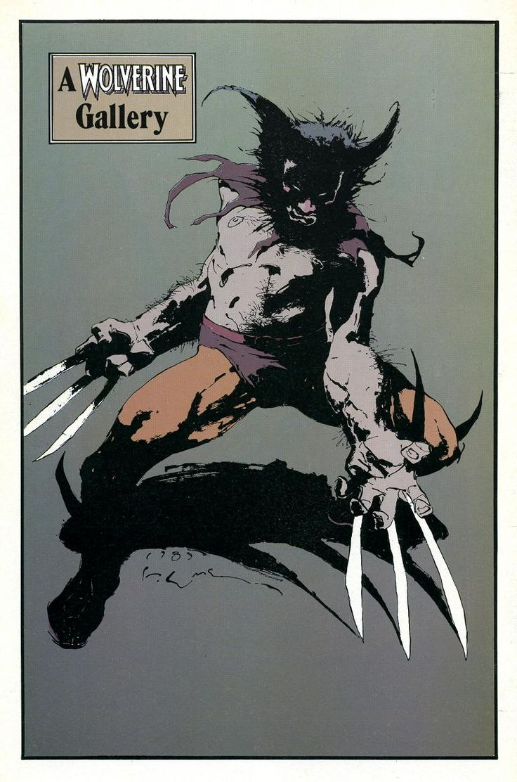 Wolverine by Kent Williams