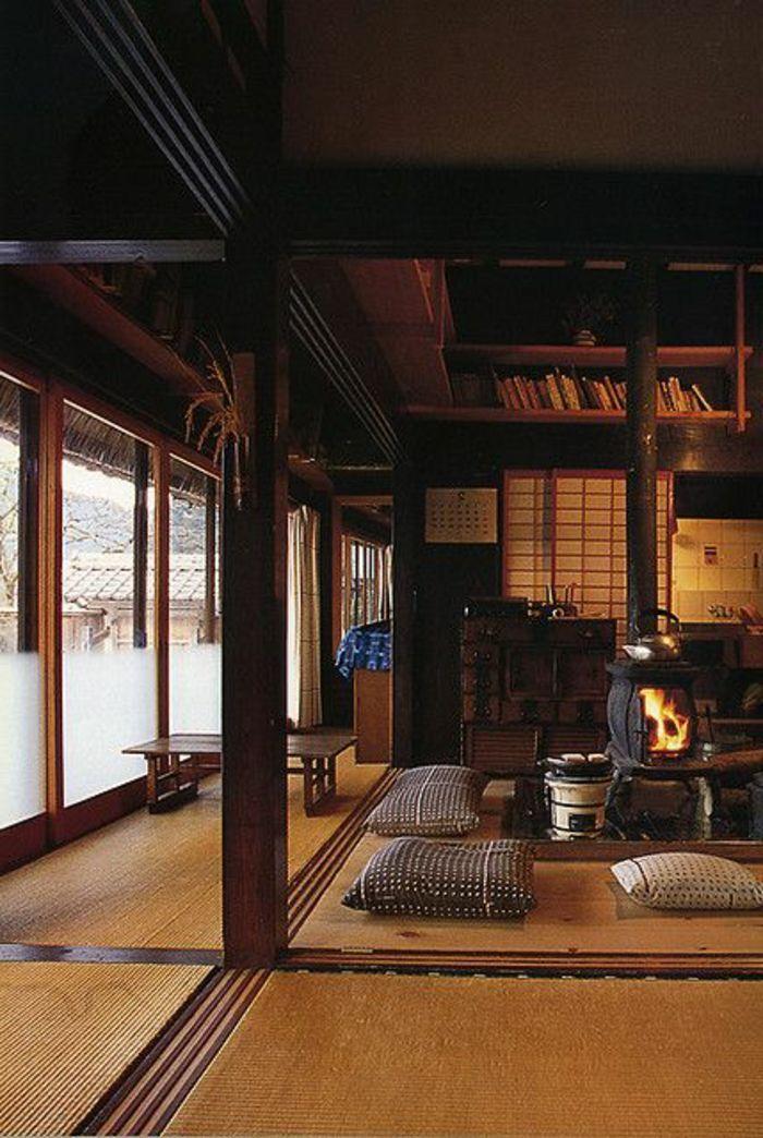 Les 25 meilleures id es de la cat gorie chambre marron sur - Decoration asiatique dans linterieur moderneidees inspirantes ...
