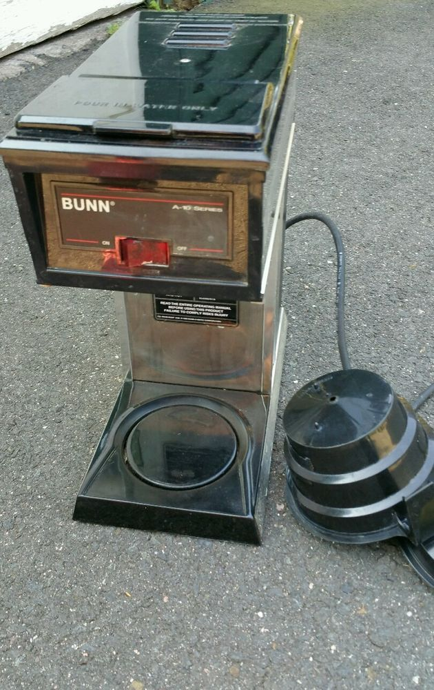 Bunn Coffee Maker Fix : 25+ best ideas about Commercial Coffee Makers on Pinterest Commercial coffee grinder ...