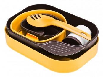Wildo Camp A Box Complete Geschirr Set Lemon Brown