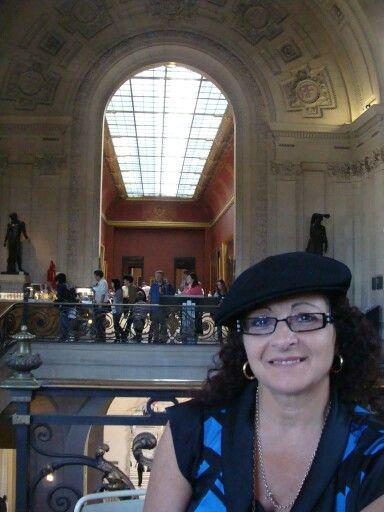 Me inside the Louvre......A Dream come true!