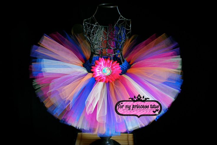 Silly and sassy party outfit {Fresh Beat Band Tutu. $16.00, via Etsy}