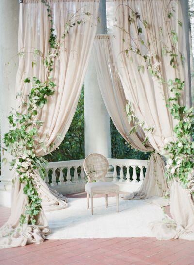 All romantic elegance: http://www.stylemepretty.com/2015/05/17/elegant-ethereal-wedding-inspiration/   Photography: Vasia - http://www.vasia-weddings.com/