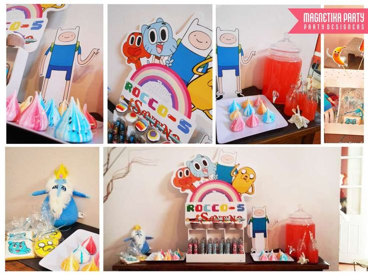 amazing world of gumball / adventure time Birthday Party Ideas | Photo 4 of 17 | Catch My Party