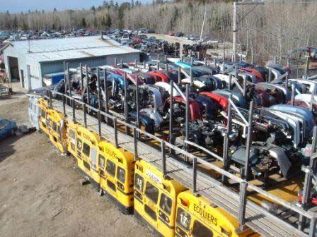 Pièces d'Autos Châteauguay, situé au Saguenay Lac Saint-Jean, est le meilleur endroit pour trouver une pièce d'auto usagé