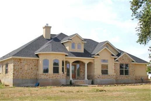Great Texas Style Ranch House Plan This Design Offers A