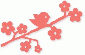 Birdie blossom branch