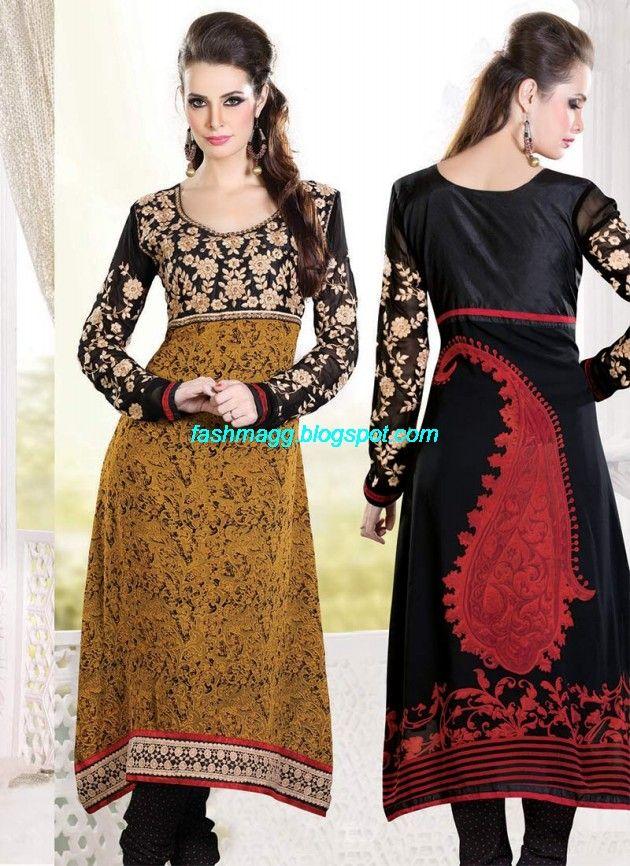 New-Designers-Anarkali-Frock-Churidar-Salwar-Kameez-Latest-Fashion-Dress-