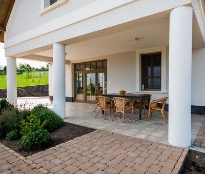 Luxury Villa Portico at Lake Balaton Hungary
