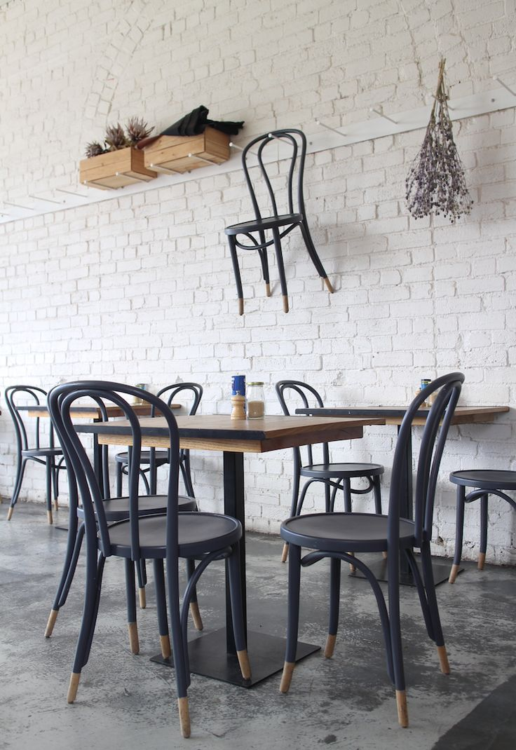 chair paint - Pauline Egge of Petite Passport takes us on a tour of Melbourne's best coffee shops.