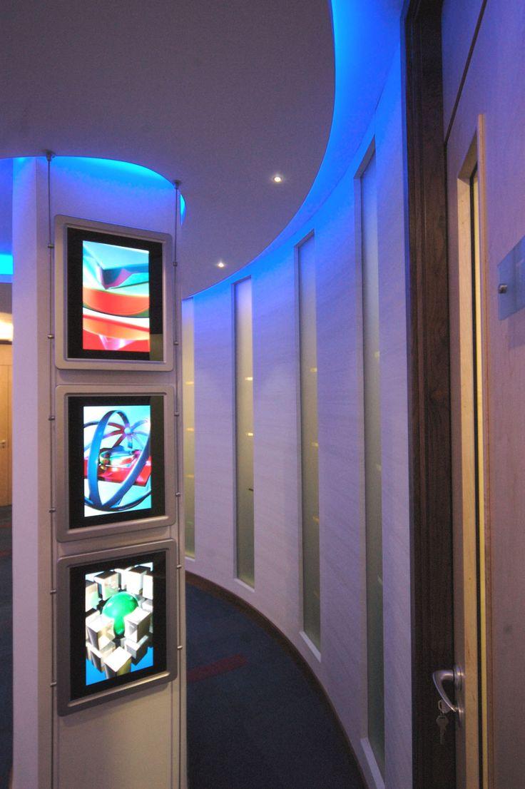 Coda Harrogate reception corridor