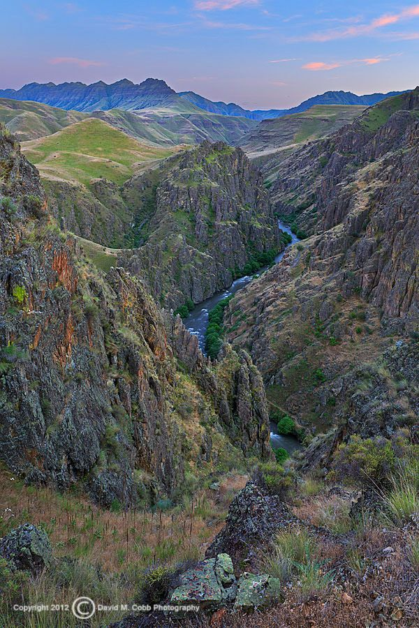 The Hells Canyon Wilderness is a wilderness area in the western United States, in Idaho and Oregon. It contains some of the most spectacular sections of the Snake River as it winds its way through Hells Canyon, North America's deepest river gorge and one of the deepest gorges on Earth.