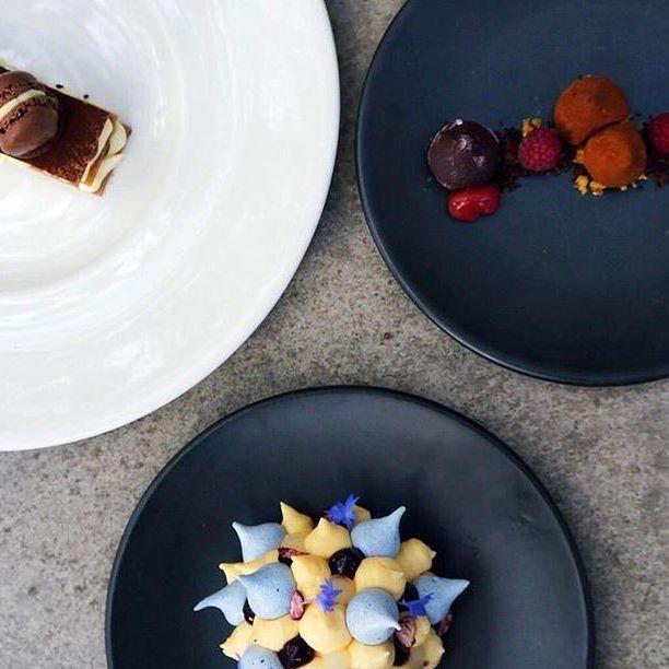 Perfection on a plate! Repost @blackbarnbistro ・・・  Have your cake and eat it too 🍰 #blackbarnbistro #blackbarn #blackbarnvineyards #dessert