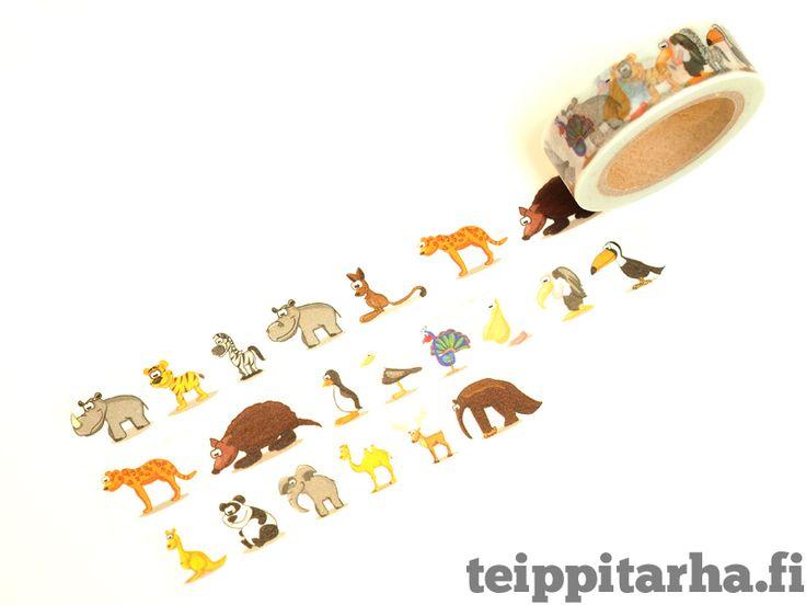 Washiteippi (eläimiä) Eksoottiset eläimet