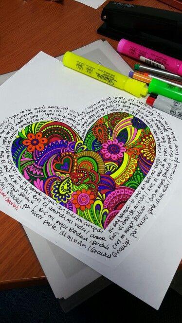 Mandala para el Corazón ❤