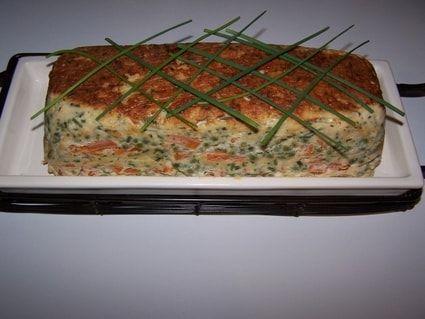 Terrine de poisson aux petits légumes