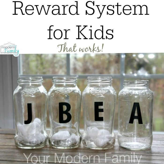 Easy and effective reward system for kids    This works GREAT in our house!   yourmodernfamily.com