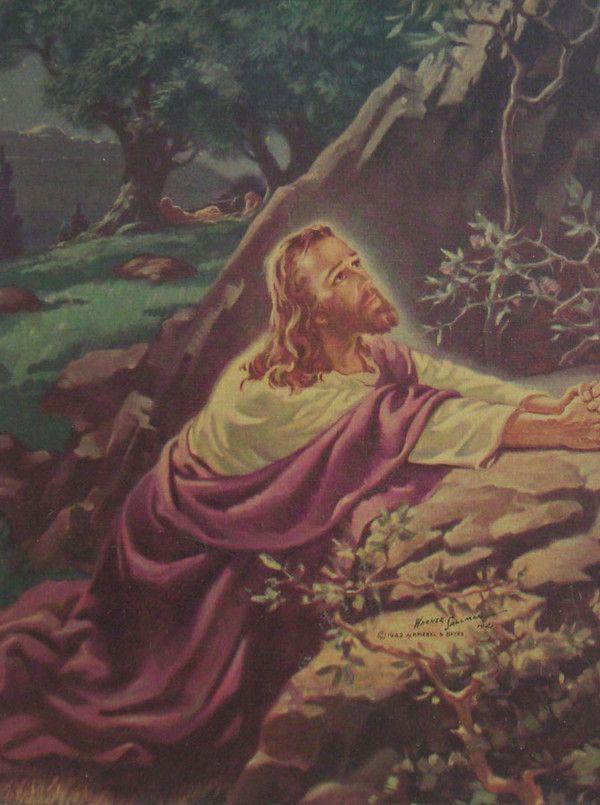 Sallman Jesus Garden Google Search Scripture Pics Pinterest Gardens Jesus And Search