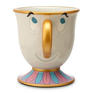 Disney Chip Mug | Disney StoreChip Mug - Despite his imperfections, Chip is perfectly cute as shown in this mug featuring the Beauty and the Beast character. Detailed with raised features, the ceramic cup includes the flaw that inspired his name.