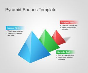 Download free Pyramid PowerPoint Shapes template to make awesome presentations with pyramid shapes in the slide design