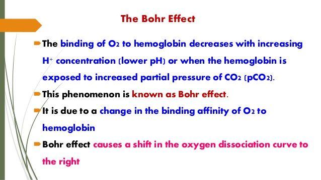 Bohr Effect - Google Search