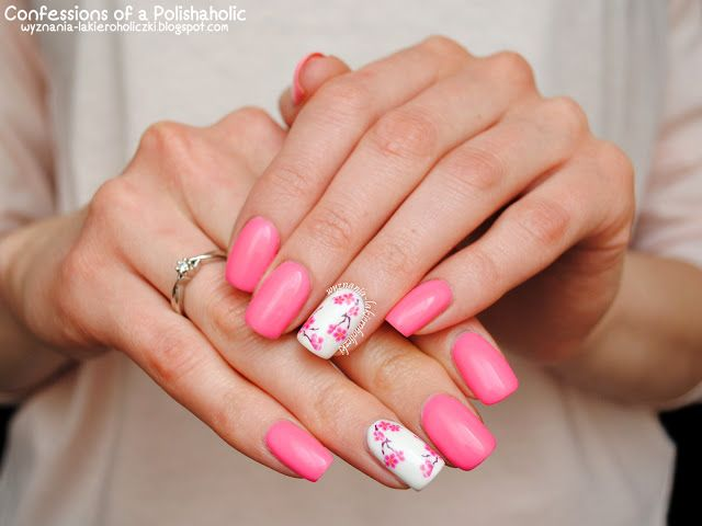 Confessions of a Polishaholic: Cherry Blossom with NeoNail Madame Butterfly…
