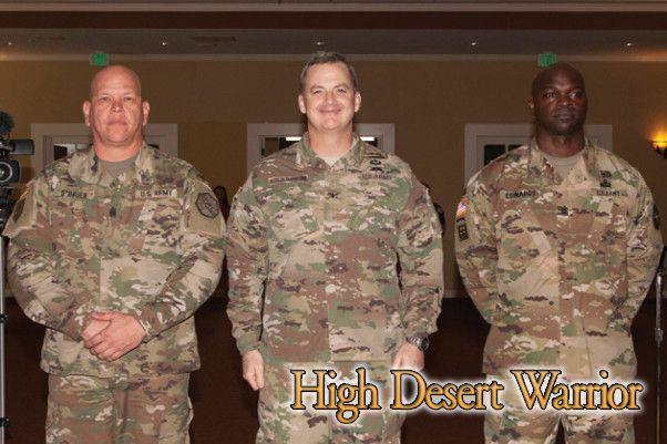 Fort Irwin Welcomes New Garrison Command Sergeant Major High Desert Warrior Ft Irwin Fort Irwin Sergeant Army Strong