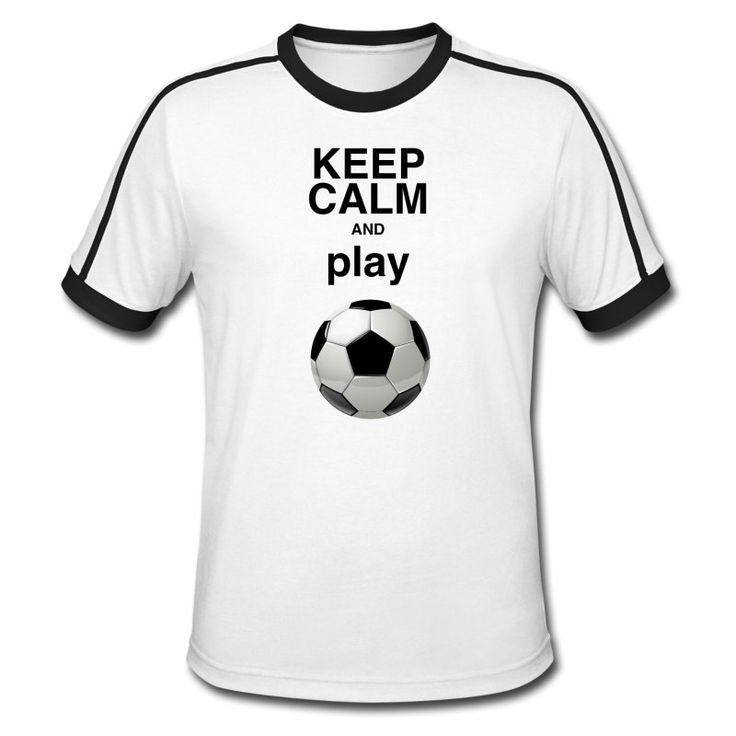Fussball ist Dein Sport? - Prima - hier ist Dein Shirt!  https://shop.spreadshirt.de/DaiSign/maennershirt+keep+calm+and+play+soccer-A110659671  Spielerin, Soccer, Sportart, Fußballplatz, Fußballschuhe, Spielernummer, Fußballer, Spielball, Fußballspiel, Keep calm, Fussball, Fußball, Spielerzahl, Fussballfan, Fußballmannschaft, Fußballfeld, Ballsport, keep calm crown, Spieler, Fußball-Fan, Sport, Spielfeld, Sporthelden, spielen, Keeper, Shirt, TShirt, Trikot, Spreadshirt, daisign,