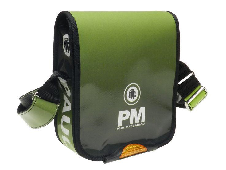 Tracolla uomo verde sfumato modello Mipok marca Paul Meccanico.