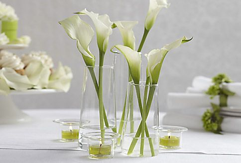 PartyLite Symmetry Trio displayed for spring. Justinewindow.partylite.co.uk