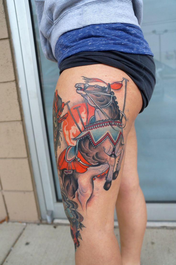 Nicole curtis tattoo - Warhorse Matt Lambdinironclad Tattoo Companytroy Mi