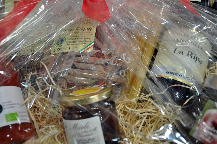 Anche vini e pasta biologica per le vostre idee regalo