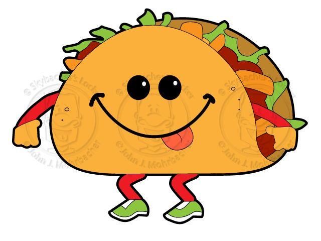 cartoon tacos google search hilarious pinterest