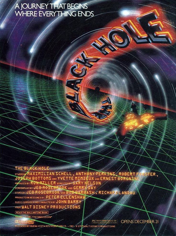 The Black Hole Movie Poster (1979)