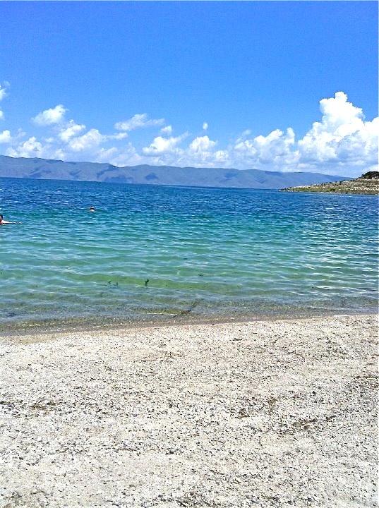 Lake Sevan in Armenia !