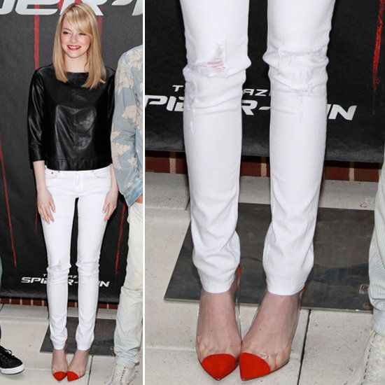 78  images about What to wear with white skinny jeans! on ...