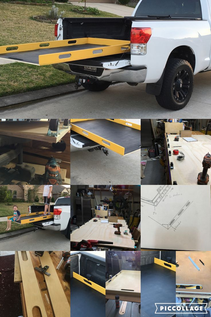 DIY Sliding Truck Bed