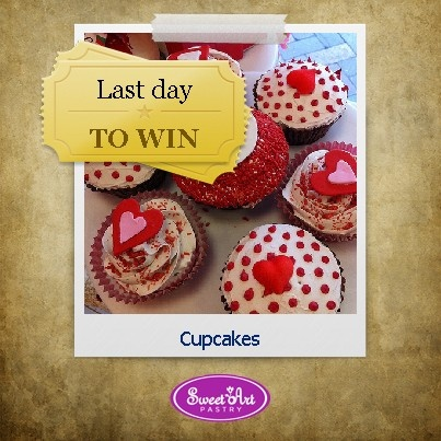 Today is the last day of our contest!  Win cupcakes!