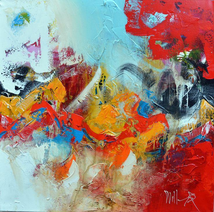 95x95cm door William Malucu - Te huur/te koop via Abrahamart.com  #art #popart #painting #kunst #kunstuitleen #WilliamMalucu #abrahamart #bramreijnders #Eindhoven