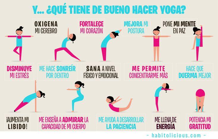 Bondades del yoga/habitolicious.com