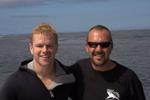 Matt Damon and Michael Rutzen