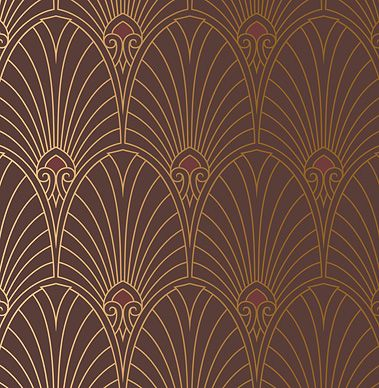Art Deco Wallpaper & Borders   Retro Wallpaper   Bradbury & Bradbury