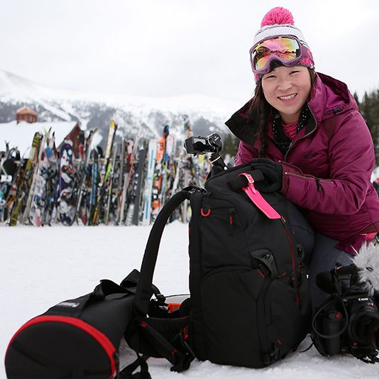 A day filming on the #snow is never easy. Juliana Broste shows how to be mobile on the #mountains and be able also to carry what you need to get the #shot. Enjoy the article! :)